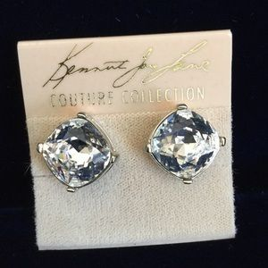 Kenneth Jay Lane Couture Collection Clip Earrings